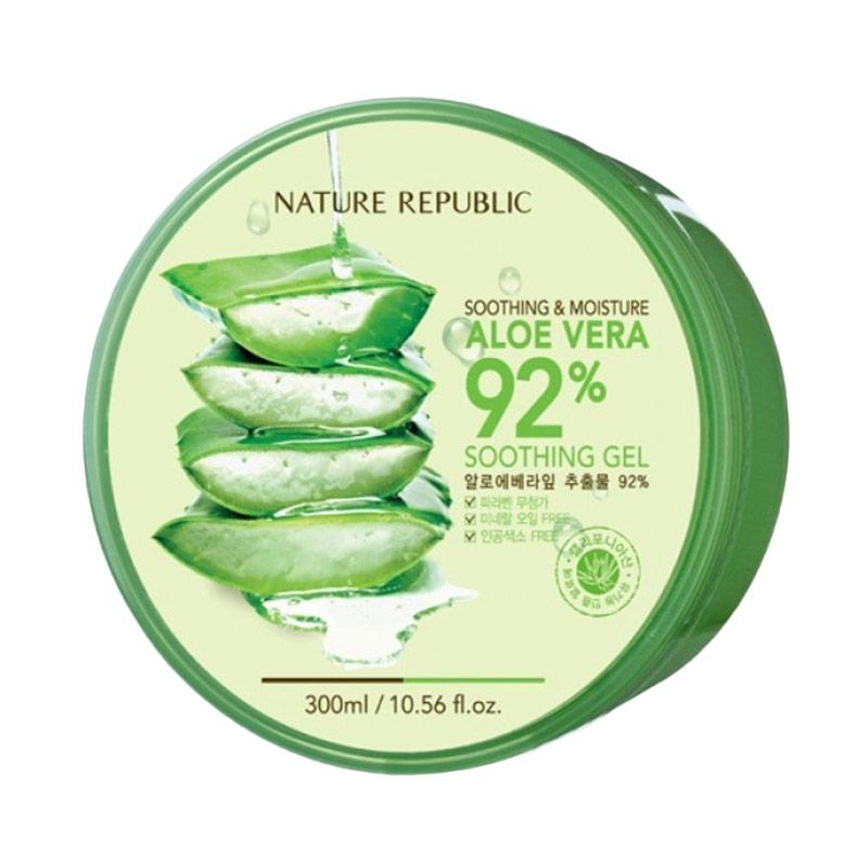 Jual Nature Republic Aloe Vera Gel Pelembab Wajah Online April 2021 Blibli