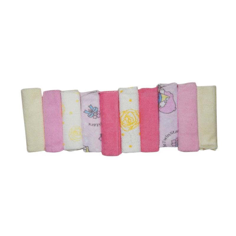 Wonderland Motif A12 Baby Washcloth Sapu Tangan Bayi