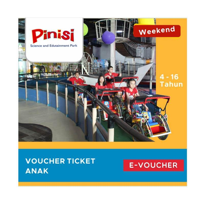 Pinisi Science and Edutainment Park Tiket Masuk Toddler E-Voucher [Weekend]