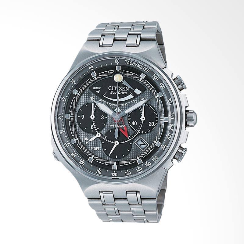 Citizen AV0020-55H Promaster Eco Drive Titanium Jam Tangan Pria - Silver