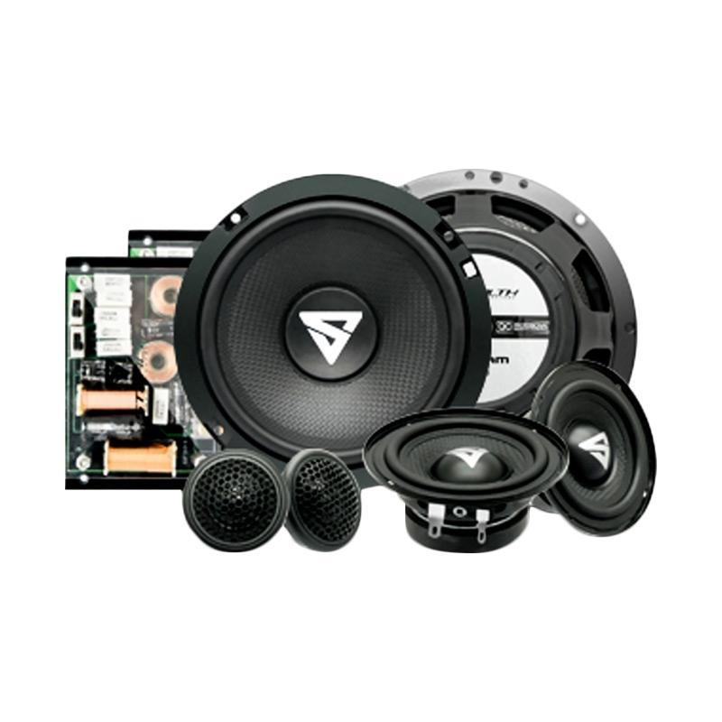 Stealth XT-360 3 Way Component Speaker Kits Car Audio System