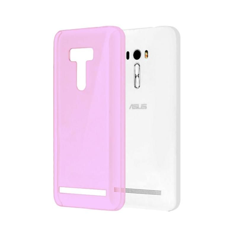 Ume Ultrathin Silicone Jelly Softcase Casing for Asus Zenfone Selfie ZD551KL - Pink