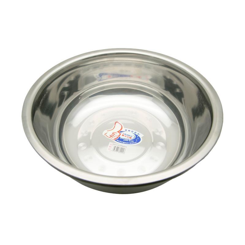 HAN BD40 Extra Dalam Stainless Baskom - Perak [39 cm]