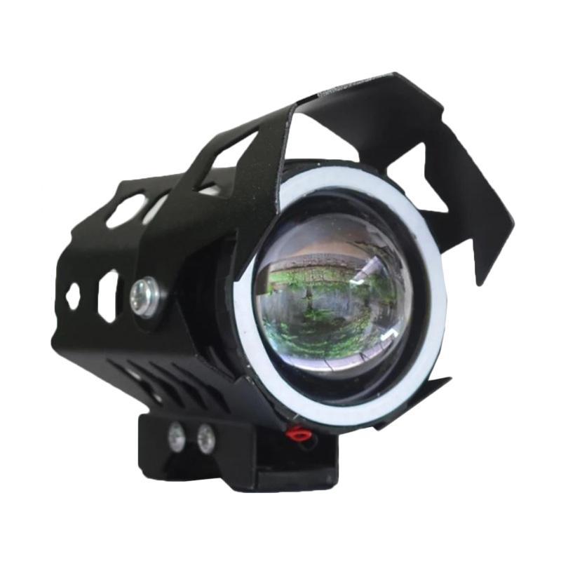 Raja Motor Transformer U9 Universal Besar Lampu LED Projector - Hitam [LAV9004-Hitam]