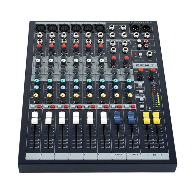 harga Soundcraft EPM 6 Audio Mixer [6 Channel] Blibli.com