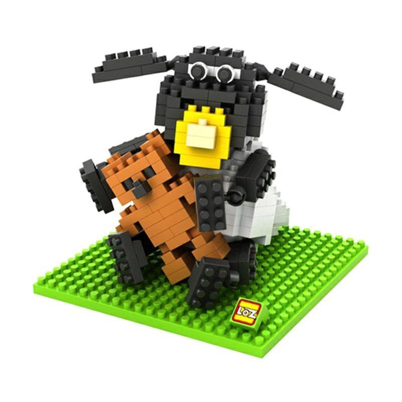 Loz Gift Large 9479 Mainan Blok & Puzzle