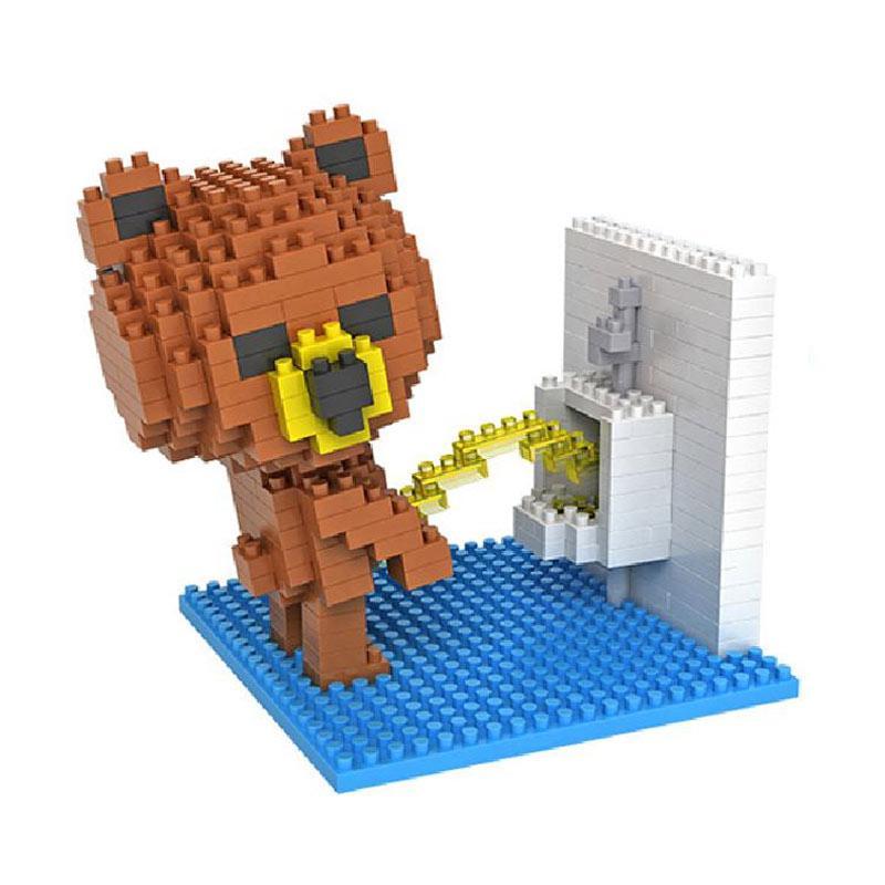Loz Gift Toileting 9430 Mainan Blok dan Puzzle [Large]
