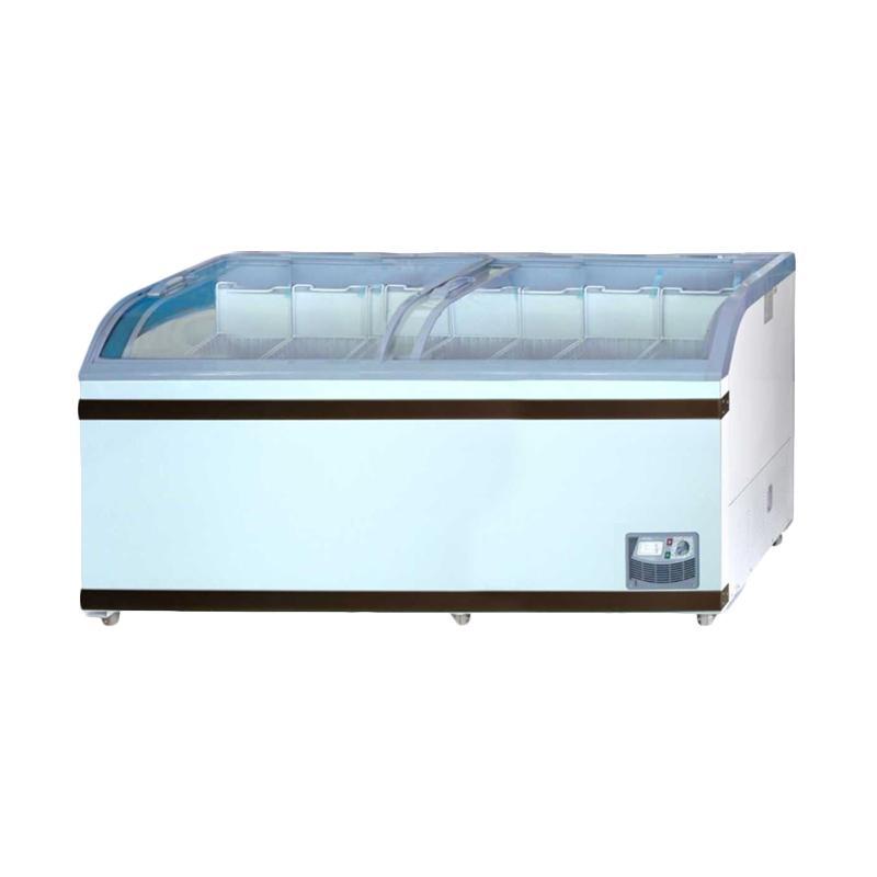 GEA GETRA SD-700BY Sliding Curve Glass Freezer [Jabodetabek]