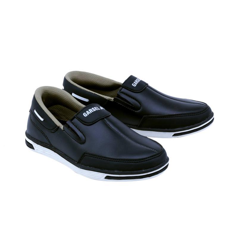 Garsel GDA 9505 Sneakers Shoes Sepatu Anak Laki-Laki - Hitam