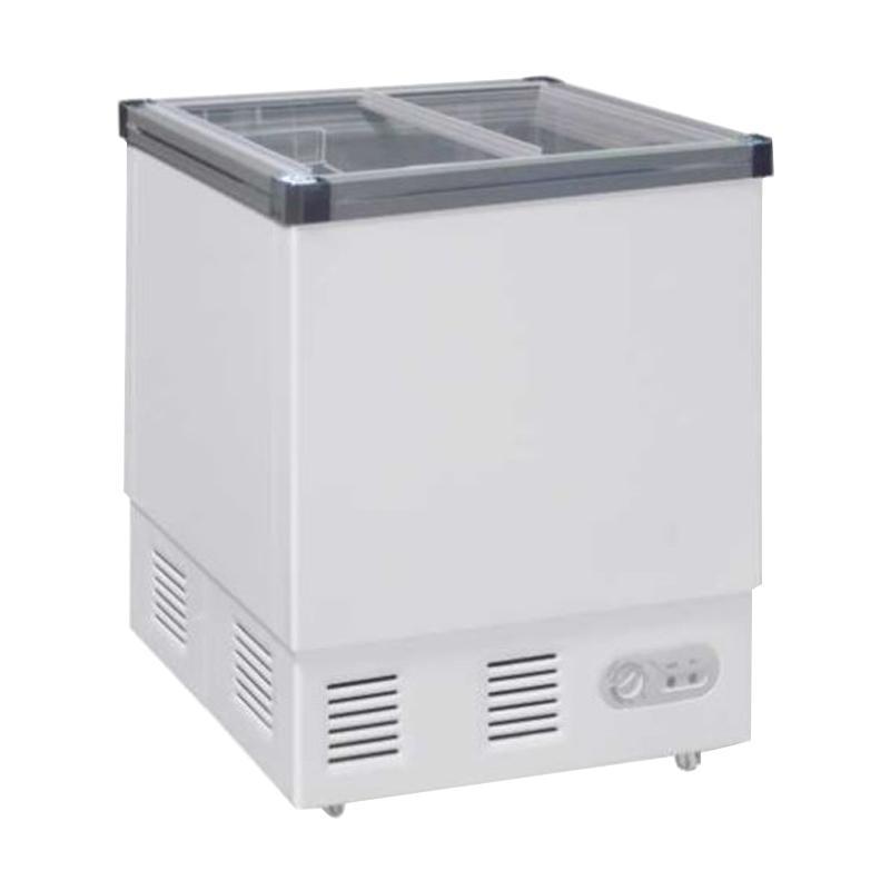 GEA GETRA SD-132P Sliding Flat Glass Freezer [JABODETABEK]