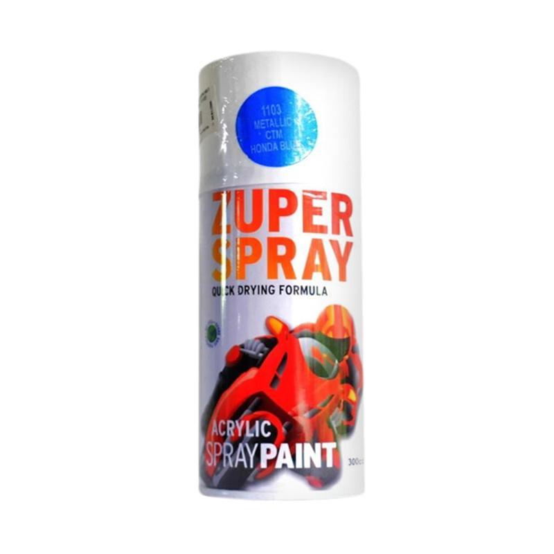 RJ Zuper Acrylic Spray Paint Cat Semprot - Honda Blue [300 cc] CAT9154