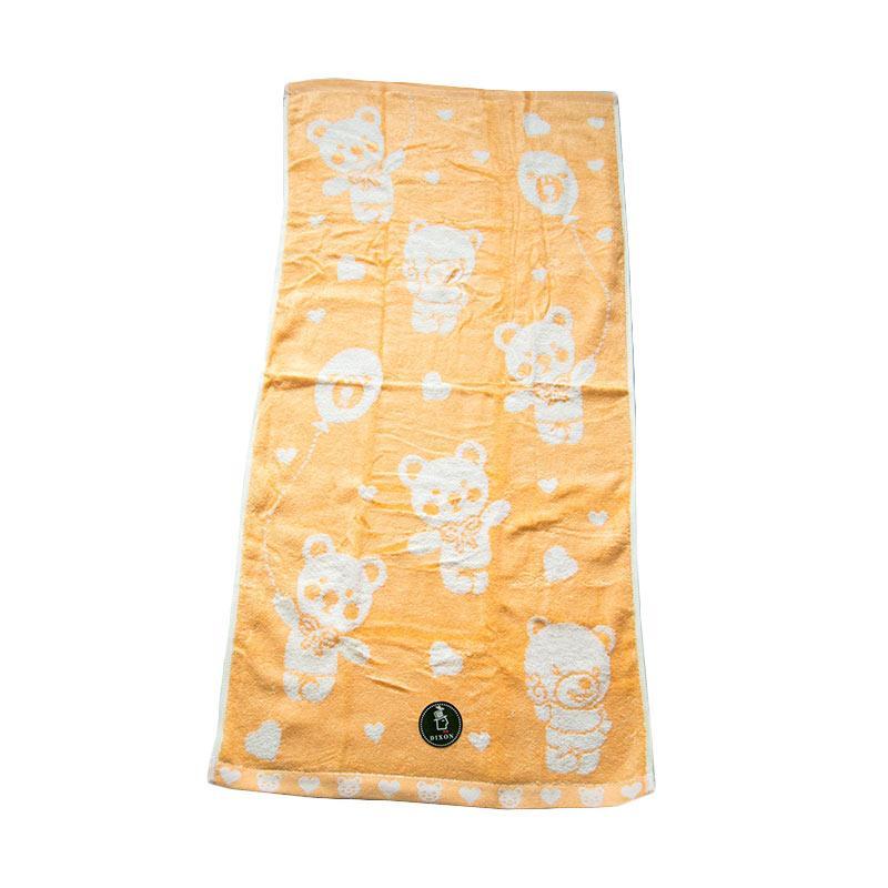 Dixon Bear Baloon 7082 Handuk Mandi - Orange [60 x 120 cm]