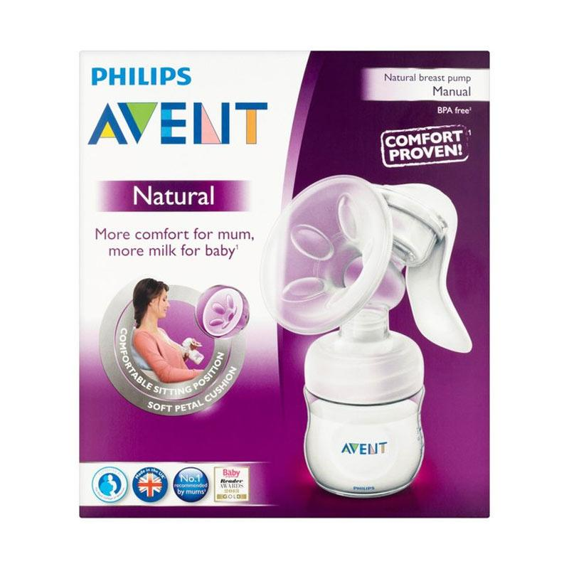 AVENT Natural Breast Pump Manual Bottle SCF330 20