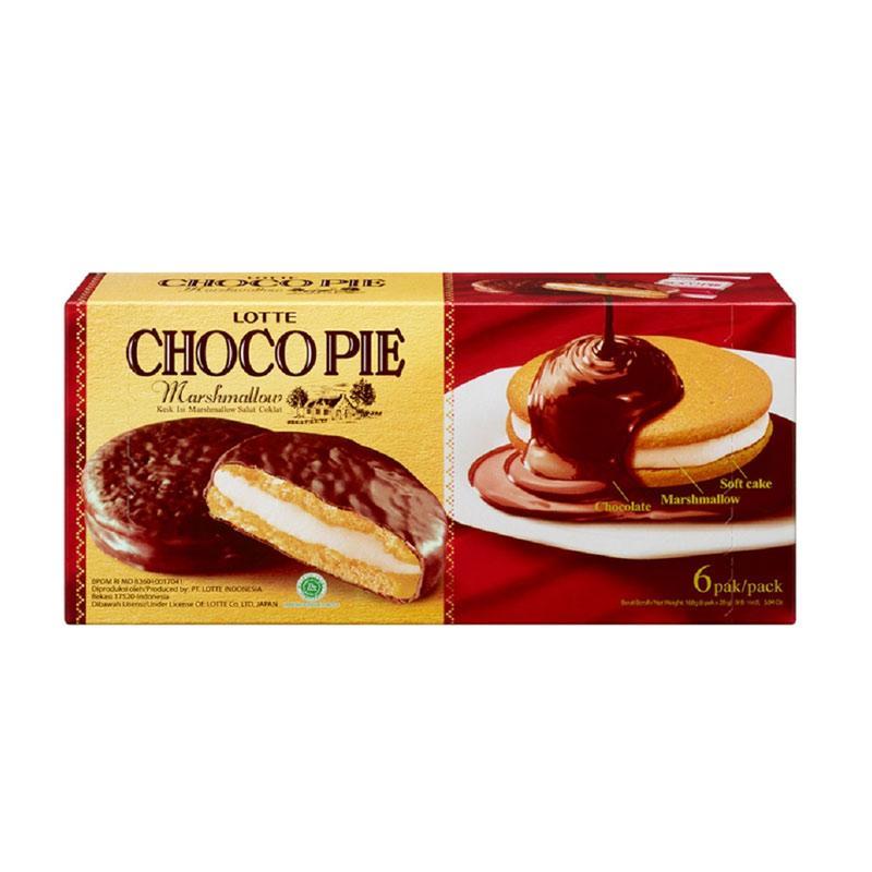 LOTTE Choco Pie Marshmallow 168 gr