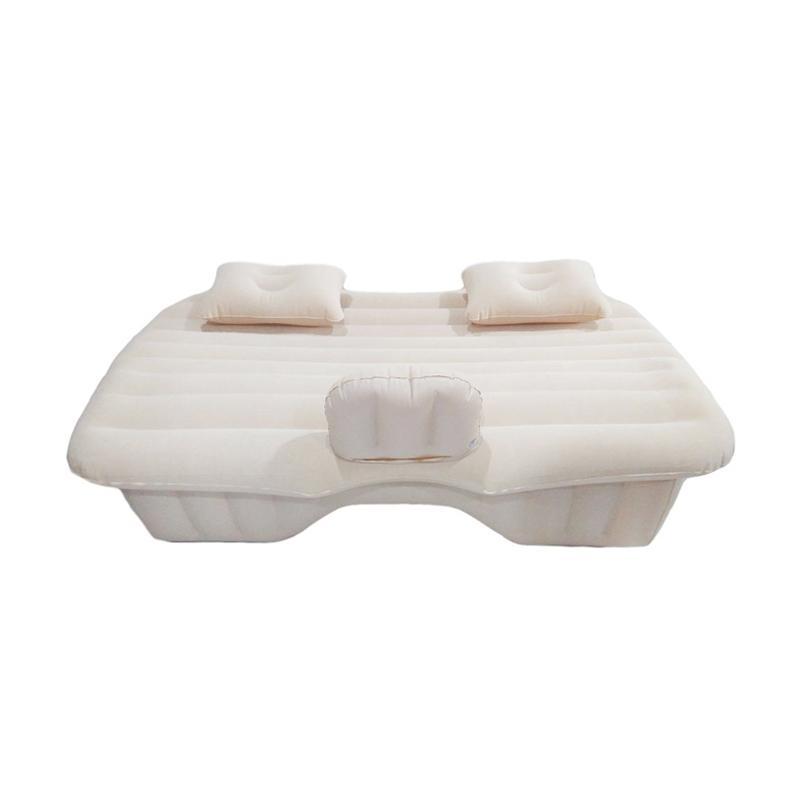 Gogo Model Kasur Angin Car Mattress - Cream