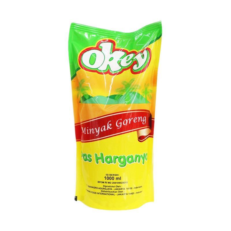 Fiesta Okey Minyak Goreng Pouch @1 L/ [7 pcs]