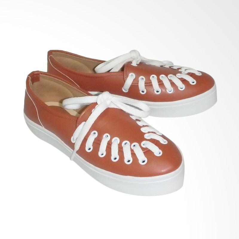 Anneliese Hani Sepatu Slip On Wanita - Tan