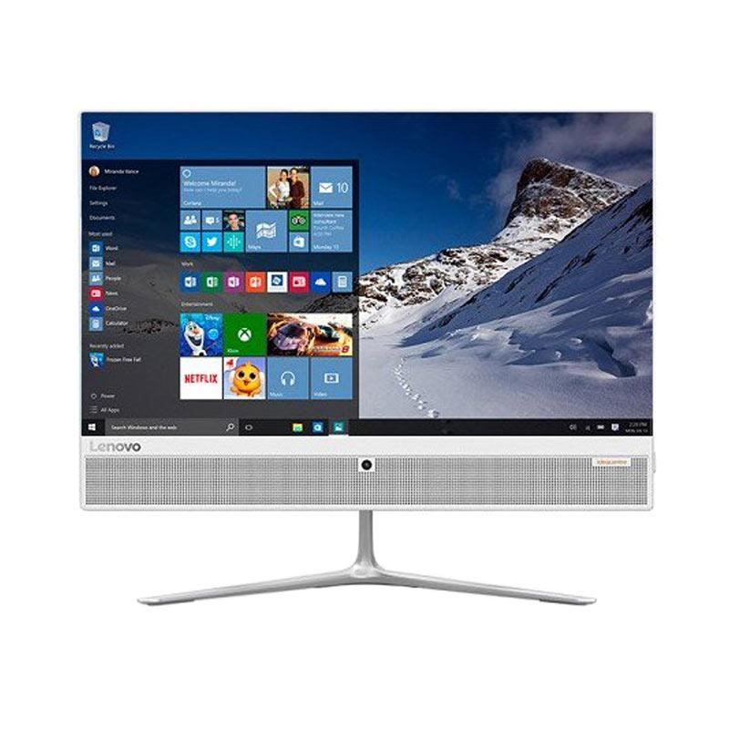 harga Lenovo IdeaCentre AIO 520-09ID Desktop PC - Gray White Blibli.com