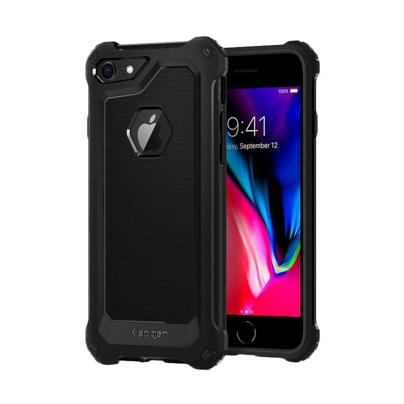 Spigen Rugged Armor Extra Casing for iPhone 7 or iPhone 8 - Black