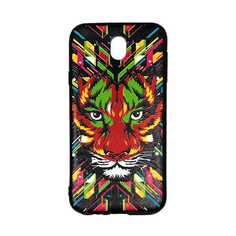 QCF Luxo Rimba Tiger Silicone Softcase Casing for Samsung Galaxy J7 Pro 2017 J730