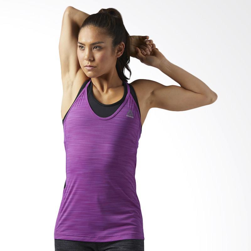 Reebok Activchill Auberg Tanktop Olahraga Wanita - Purple [BQ4866]