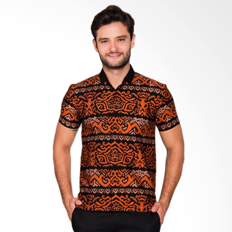 Adiwangsa Model Modern Slim Fit Baju Kemeja Batik Pria [020]