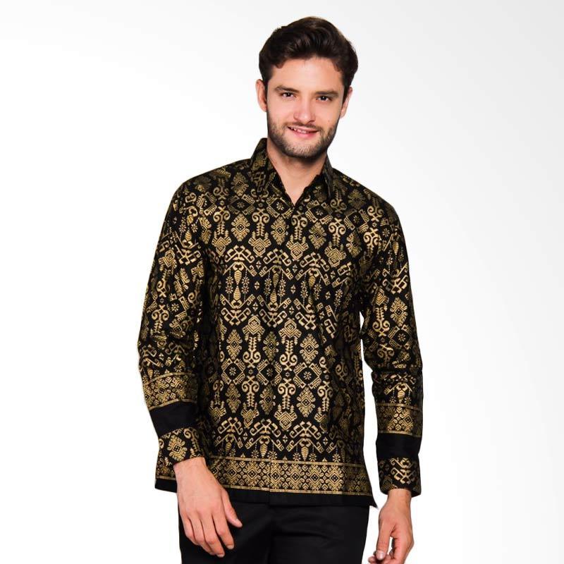 Adiwangsa Model Modern Slim Fit Baju Kemeja Batik Pria [025]