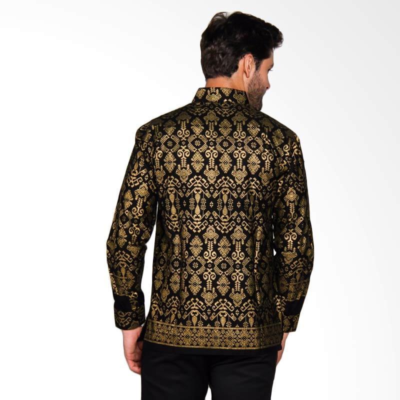 Adiwangsa Model Modern Slim Fit Baju Kemeja Batik Pria 025
