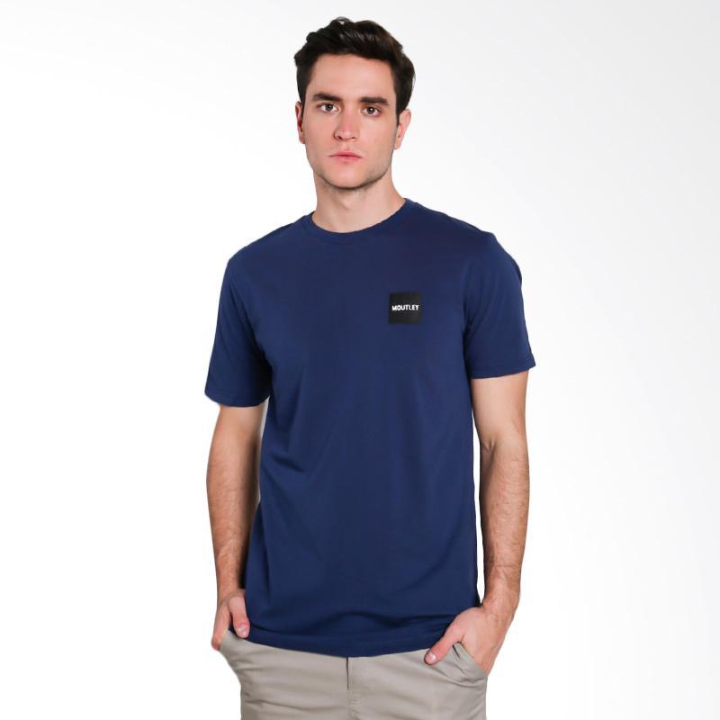 Moutley Male T-Shirt Atasan Pria - Blue