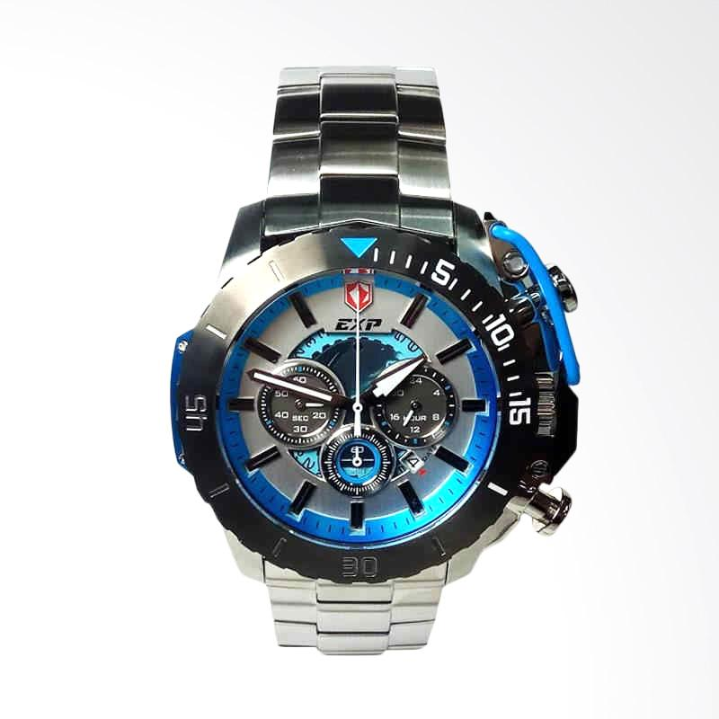 Expedition Jam Tangan Pria - Silver Blue [3002]