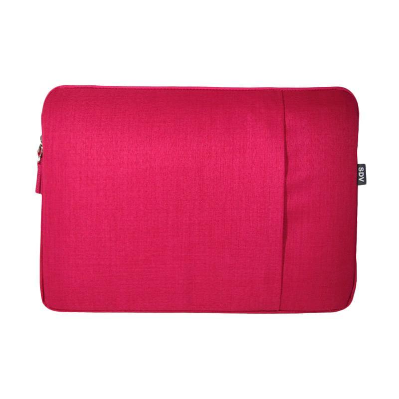 SDV LS-101 Sleeve Tas Laptop - Pink [15 Inch]