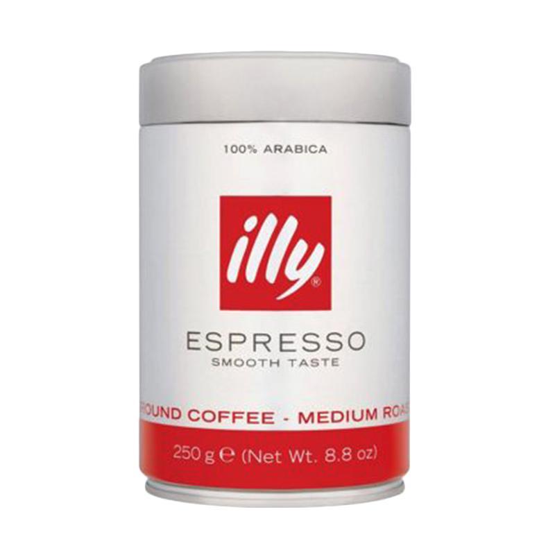 ILLY Coffee Medium Roast Ground Espresso