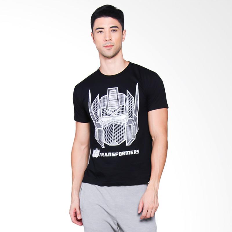 NOG Transformer Optimus Prime Silver Exclusive T-Shirt Unisex - Black