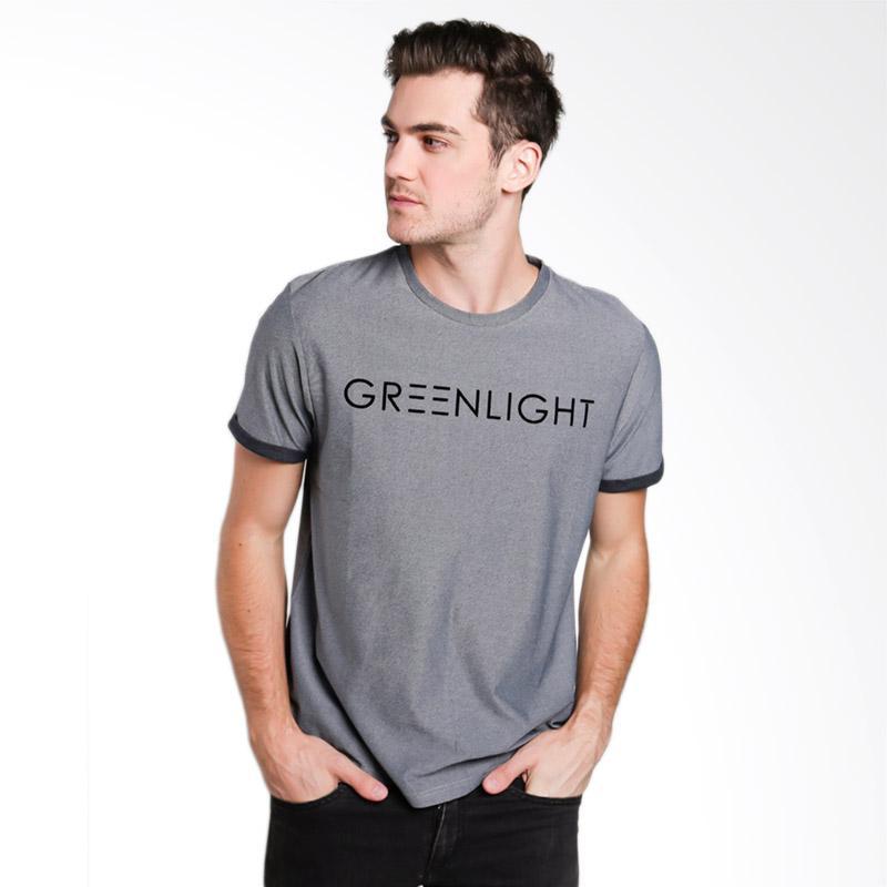 Greenlight Men 5301 T-shirt Pria - Grey