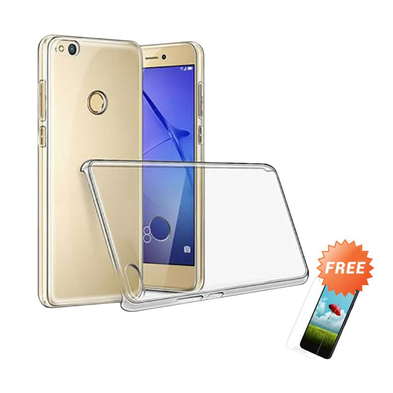 ... Jual OEM Crystal Hardcase Casing for Xiaomi Redmi 4X Clear Free Tempered Glass Online Harga &