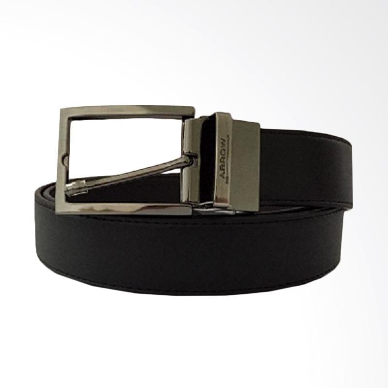 Arrow Leather Belt Ikat Pinggang Pria - Black [BP-AR2124TPH-B35-3132]