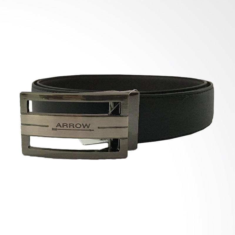 Arrow Leather Belt Ikat Pinggang Pria - Black [BP-AR2124FHA-B35-4127]