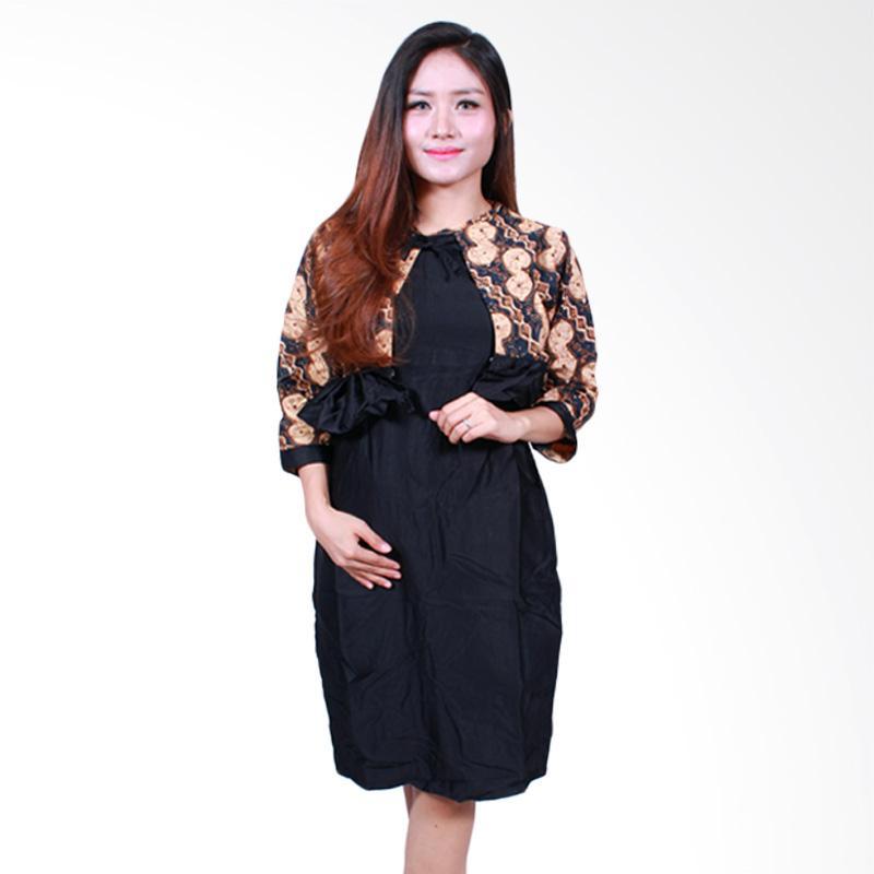 Batik Putri Ayu Solo D502-B Midi Dress Batik