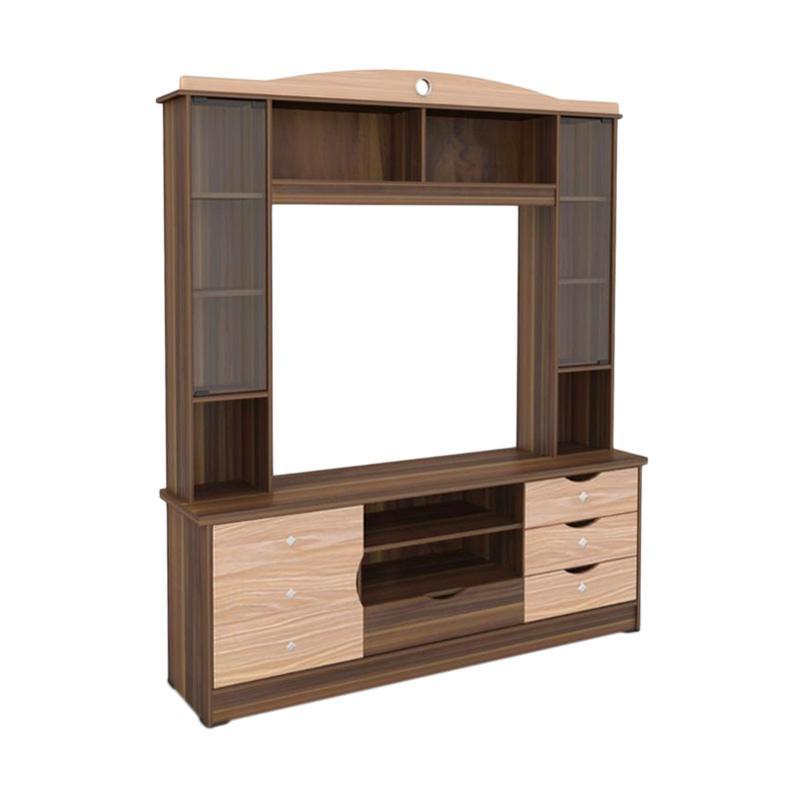 MD Furniture Pandawa 172 Lemari Rak TV [Khusus Jabodetabek]