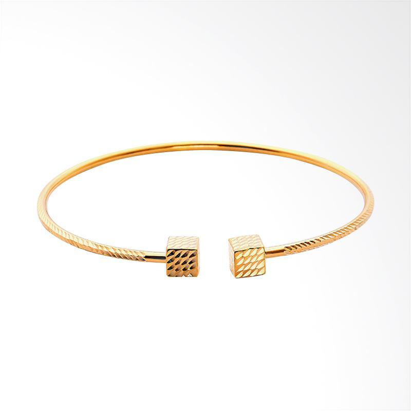 WhizLiz Franklin Bangles Gelang Emas - Gold [18K]