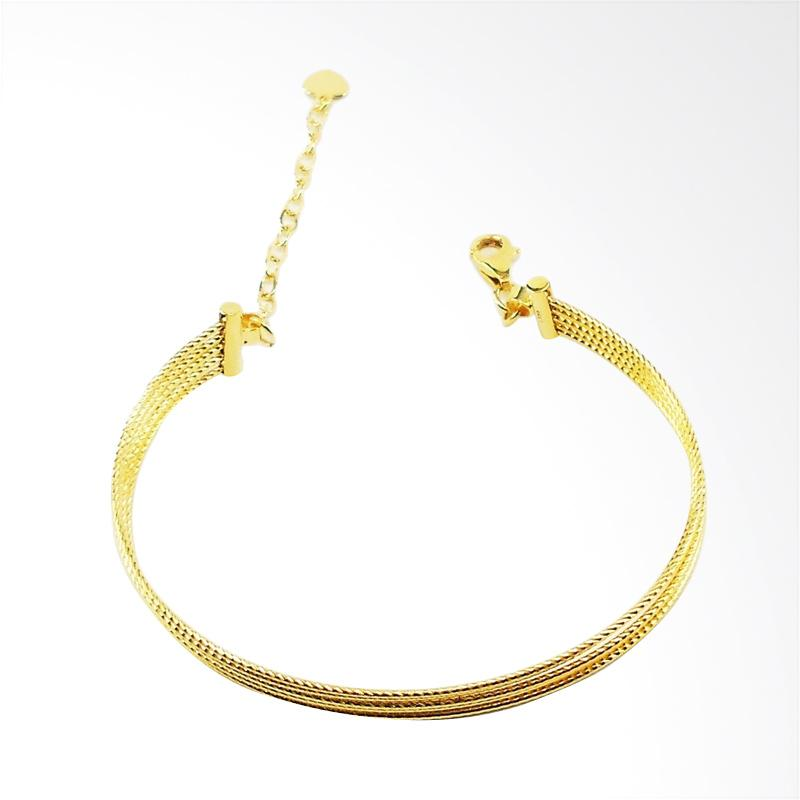 WhizLiz Sarah Bangle Gelang Emas - Gold [18K]