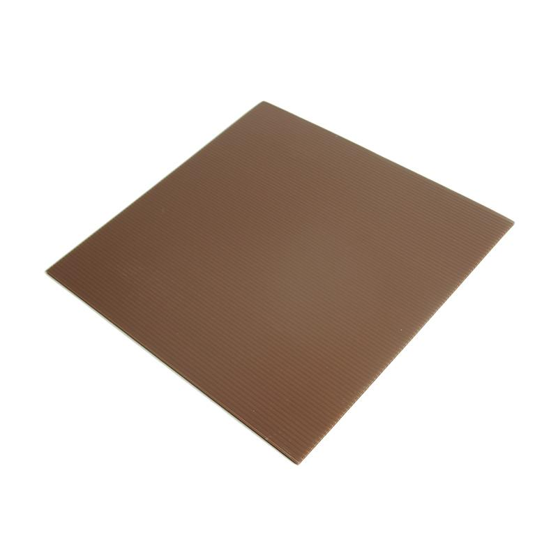 Titan Baking Kotak Tatakan Kue - Coklat [24 cm] isi 12 pcs