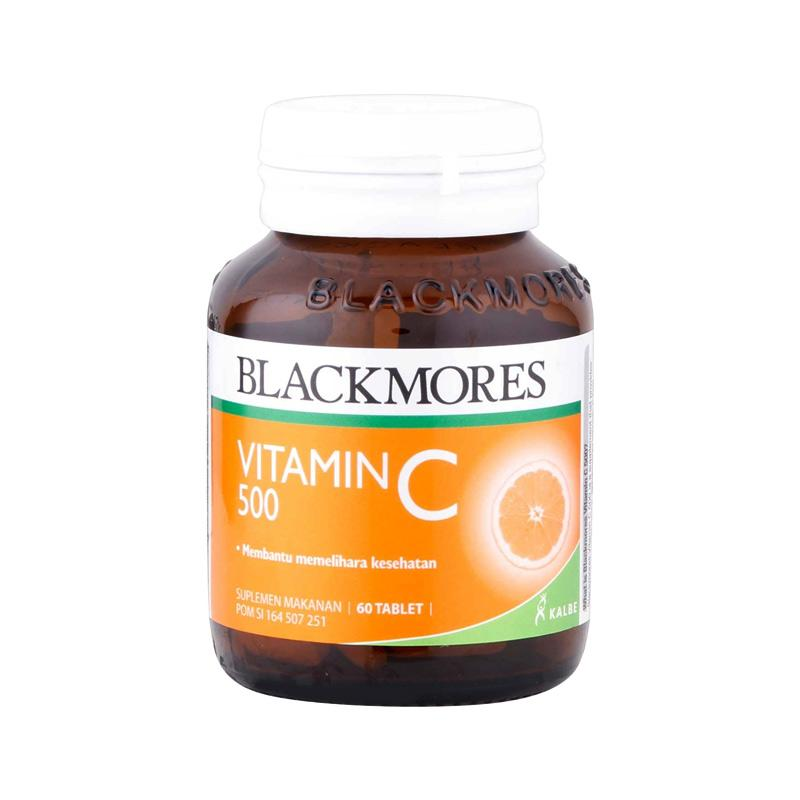 Blackmores Vitamin C Suplemen BPOM Kalbe 500 mg 60 Tablets