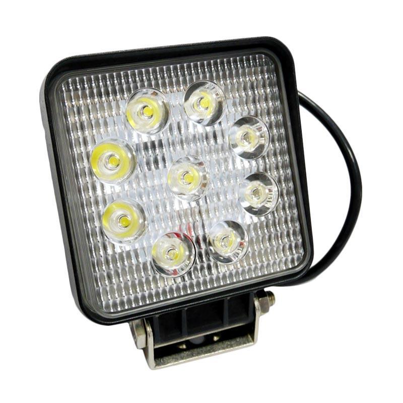 SIV TF-9LK Lampu Sorot Mobil or Motor [9 LED/ 27W]