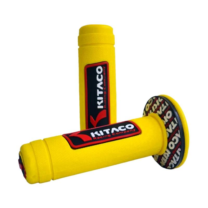 Raja Motor Kitaco Timbul Handgrip Motor - Kuning [HAF9058-Kitaco-Kuning]