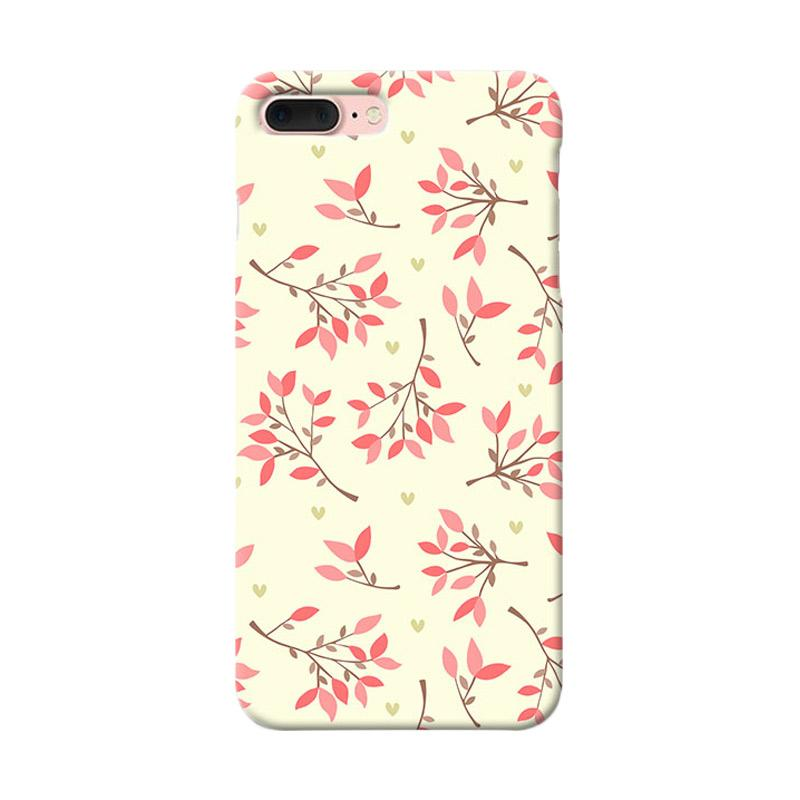 Premiumcaseid Cute Floral Seamless Shabby Hardcase Casing for iPhone 7 Plus