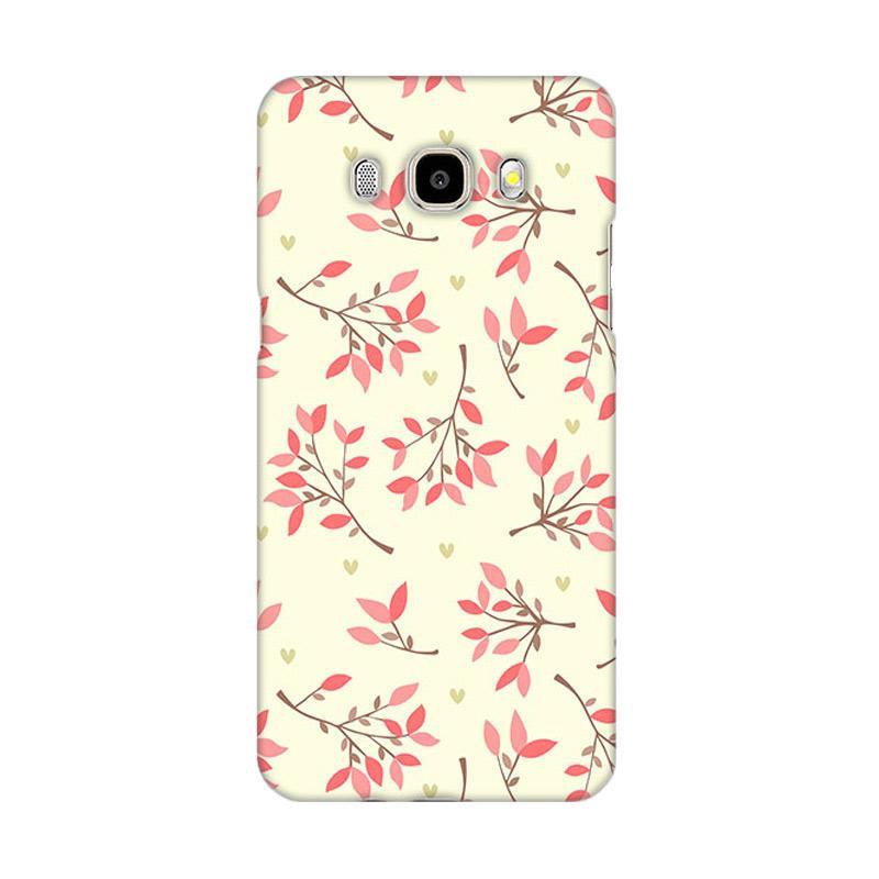 Premiumcaseid Cute Floral Seamless Shabby Hardcase Casing for Samsung Galaxy J5 2016