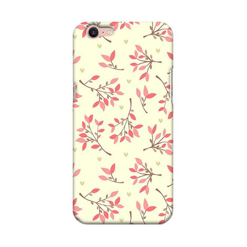 Premiumcaseid Cute Floral Seamless Shabby Cover Hardcase Casing for Oppo A39 A57