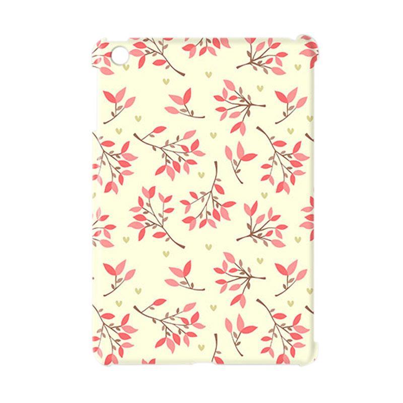 Premiumcaseid Cute Floral Seamless Shabby Cover Hardcase Casing for iPad Mini