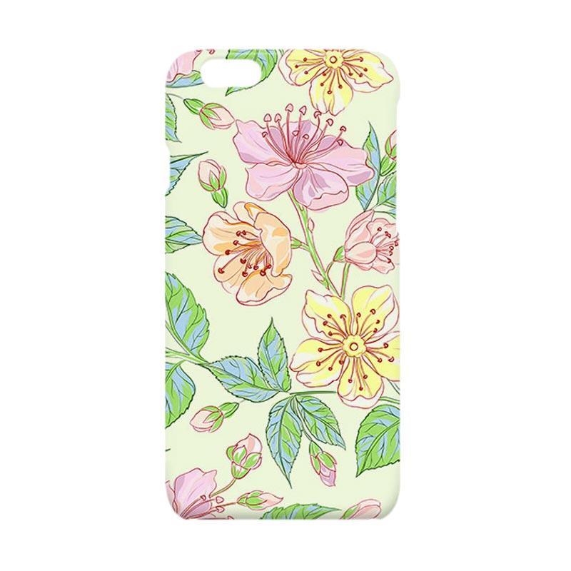 Premiumcaseid Beautiful Flower Hardcase Casing for iPhone 6 Plus or iPhone 6s Plus